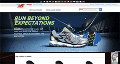 Preview of newbalanceshoe.org