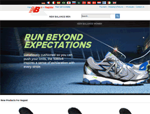 Tablet Preview of newbalanceshoe.org